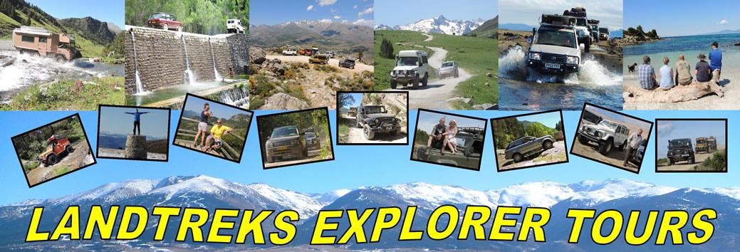 Landtreks - Pyrenean Explorer 4x4 Tag Along Tours - 4x4
